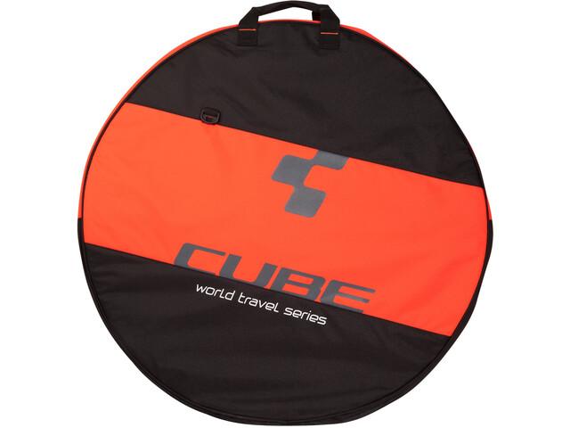 "Cube Laufradtasche 26-29"" 2-fach black'n'flashred"